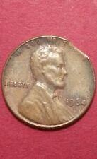 1964 D Clipped Planchet Linconl Memorial Cent Error Coin