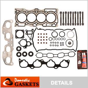 Fits 07-09 Nissan Altima Sentra SE-R 2.5L DOHC MLS Head Gasket Set Bolts QR25DE