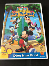 DISNEY -  MICKEY'S BIG SPLASH ( DVD) MICKEY MOUSE CLUBHOUSE
