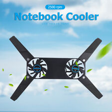 Foldable Laptop Desk Support Notebook Stand Holder with Dual Cooling Fans