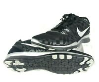 Nike Womens Free 5.0 TR Fit 5 Training Running Shoes Black Silver Size 11