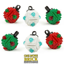 LEGO Baubles - Christmas Tree Decoration - Pack of six mini-baubles