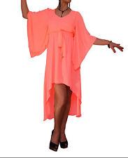 V Neck Patternless Unbranded Sundresses for Women