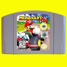 Nintendo 64 N64 Game Mario Kart 64 USA version