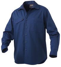 King Gee Workcool 2 Long Sleeve Shirt L Navy