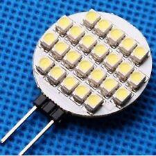 LAMPADA FARETTO G4 21 LED SMD 3528 BIANCO FREDDO  CASA UFFICIO CAMPER 12V 1,5W