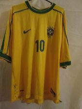 Brazil 1998-2000 Home Football Shirt Size Large /2966
