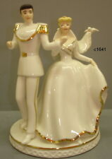 Lenox Disney Wedding Cinderella & Prince Charming Cake Topper Magical Moment New