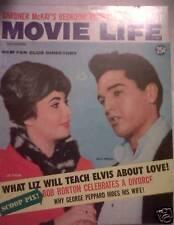 MOVIE LIFE MAGAZINE Elvis Presley Cover Nov. 1960 VG+