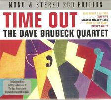 TIME OUT THE DAVE BRUBECK QUARTET MONO & STEREO 2 CD EDITION