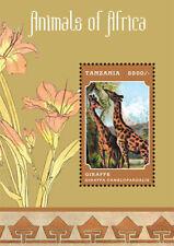 Tanzania - Animals of Africa 2013 - Stamp Souvenir sheet MNH