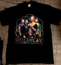 Coldplay A Head Full Of Dreams Concert Tshirt Mens Sz M 2016 Tour New #2 Band