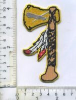 """US Navy Tactical Tomahawk Cruise Missile Hatchet Ax Weapon Die-Cut Patch 2"""" x 4"""""""
