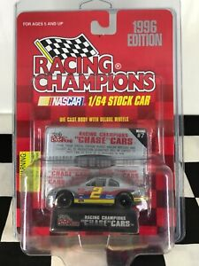UNOPENED RC Chrome Chase Car 1:64 Rusty Wallace #2 Ford Penske Racing #0023/1996