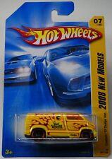 2008 HOT WHEELS NEW MODELS CUSTOM '77 DODGE VAN #7