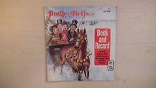Peter Pan Book JINGLE BELLS & Record 45 RPM 1977