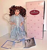Ashton Drake Porcelain Angel Doll Blessed Are the Meek 1996 COA Original Box EUC