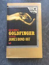 Gold finger Ian Fleming 17th Print 1964 Pan Paperback