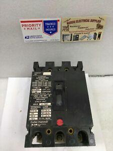 Cutler Hammer  Eaton  FC3050  600V / 240v 50A   3 Pole  Breaker CHIP ( #18C)
