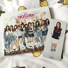 IOI 1st mini Album Chrysails KPOP CD With Photocard DIA Chungha Wjsn