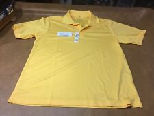 Core 365 North End Campus Gold  Men's Medium Golf /Polo New w/Tags