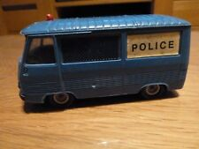 Ancienne Norev Peugeot J7 fourgon Police n°7 au 1/43