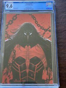 "Venom #27, KIRKHAM VARIANT COVER ""C"", CGC 9.6"
