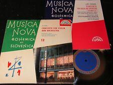 "MUSICA NOVA BOHEMICA ET SLOVENICA 12 Srnka.../60s Czech 10""EP SUPRAPHON SUF28100"