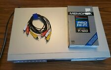 TOSHIBA SD-KV540SU VHS VCR/DVD Combo Video Player Recorder - Tested -  no remote