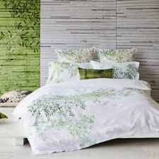 Pascale Green Queen Size 3-Piece Quilt Cover Set