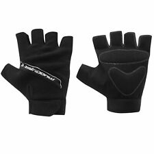 Muddy Fox Black Fingerless Cycle Mitts / Gloves (Road/Mountain Biking)