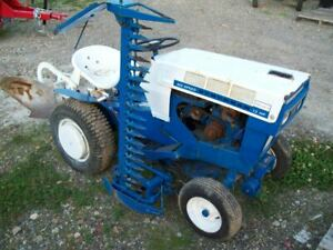 Sears Suburban 12Hp 6-Speed with Sicklebar Mower and 3-point Hitch Plow, Nice !!