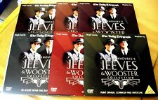 JEEVES & WOOSTER - DAILY MAIL PROMO DVDS  X 6