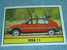 Sammelsticker Nr. 63 Bild Sticker Auto 2000 Visa 11 Panini 1985
