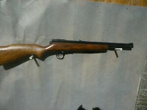 Crosman .22 cal model 140 Air Rifle. It has all new seals and works fine