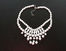 Unbranded Pearl Statement Costume Necklaces & Pendants