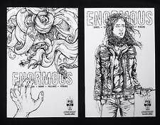 Enormous #11 Vol 2 #5 Comiconart Sketch Variant Set Print Run 200