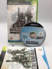 Metal Gear Solid 2 Substance: Xbox (2003) PAL Komplett