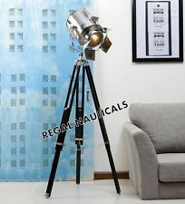 FLAP SPOTLIGHT FLOOR LAMP WITH TRIPOD STAND LAMPS SEARCHLIGHT DECORATIVE