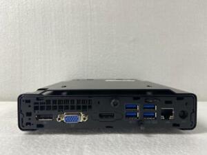 HP ELITEDESK 800 G2 DM,  i7- 6700, 8GB RAM 500GB HDD WIN 10