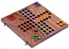 Ludo Gr. L Würfelspiel Gesellschaftsspiel Familienspiel Brettspiel aus Holz