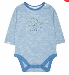 Mothercare My First Boy - Love You Daddy Baby Bodysuit Age 3-6 Months