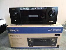 Denon AVR-X4400H 9.2 Channel Full 4K Ultra HD Network AV Receiver HEOS Atmos