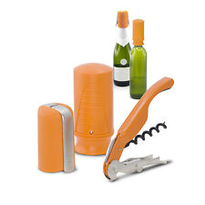 New Pulltex Pulltap,s Wine & Champ. Starter Set (3 pcs.) Gift set Orange