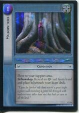Lord Of The Rings CCG FotR Foil Card 1.U54 Mallorn Trees