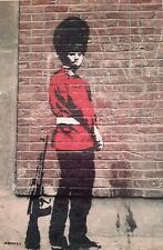 NAUGHTY SOLDIER GUARD BANKSY BANKSEY A4 PICTURE PRINT A4 WALL ART