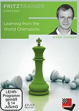 ChessBase: Tiviakov - Learning from the World Champions - Schach - NEU / OVP !!