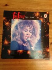 """TINA TURNER  PARADISE IS HERE 12"""" SINGLE FROM 1987"""