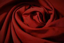 Quilt Fabric Crimson Red Solid Color Craft Apparel Upholstery 45