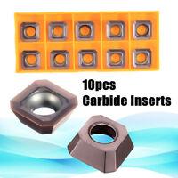 10pcs Lathe Carbide Inserts SEHT1204AFSN-X45 PC9035 / SEHT43AFSN-X45 Blades Tool